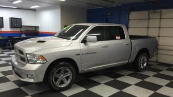 Hanover Dodge Ram Gets Backup Camera Safety System