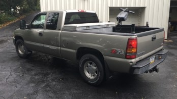 Gettysburg Client Adds 2003 GMC Sierra Remote Starter and SiriusXM