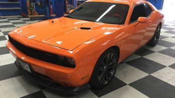 Manchester Client Gets Dodge Challenger Audio System Upgrade