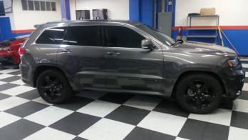 2015 Jeep Grand Cherokee Custom-Installed Laser And Radar System