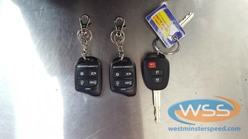 Toyota Rav4 Remote Start3  Westminster Speed