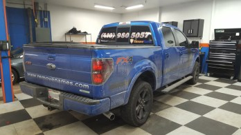 Manchester Client Gets Ford F-150 Bed Cover and Bedrug Mat