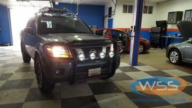 Nissan Frontier Lighting
