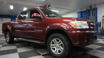 Finksburg Client Gets Toyota Tundra Backup Camera and Starter