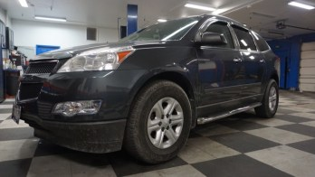 Chevy Traverse Step Bars, Great Addition for Westminster Client