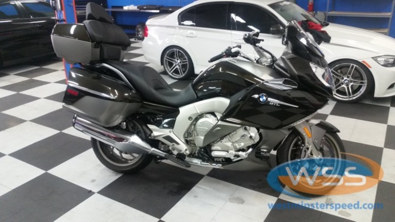 BMW K1600GTLE Audio