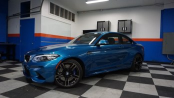 Westminster M2 Owner Gets BMW Paint Protection Film
