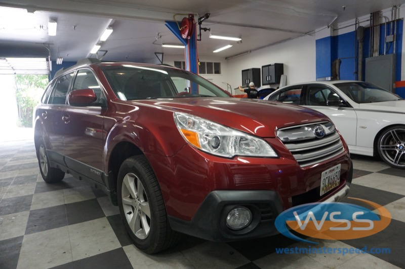 Subaru Outback Radio Upgrade Adds CarPlay for Upperco Client