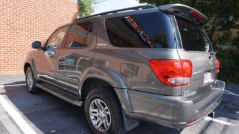 Toyota Sequoia Radio Upgrade for Local Westminster Client