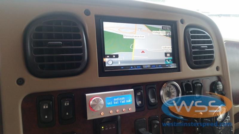 Freightliner M2 Tow Vehicle Audio