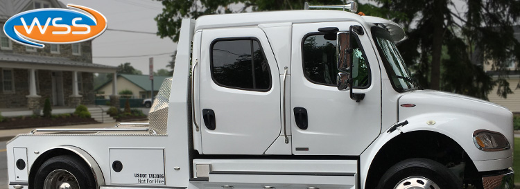 Freightliner M2 Tow Vehicle Audio