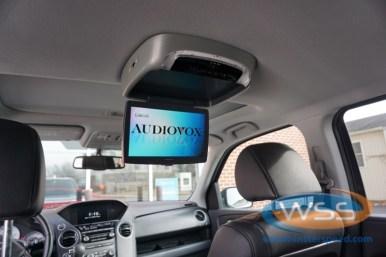 Honda Pilot Overhead DVD