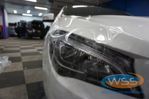 Mercedes-Benz CLA250 Paint Protection Film