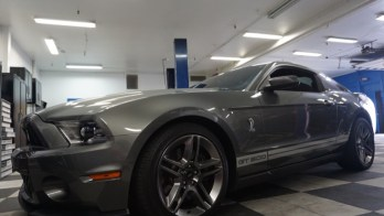 Repeat Client Gets 2011 Ford Mustang GT500 Upgraded With CarPlay