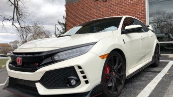 2018 Honda Civic Type R Gets Beautiful Dark Matter Window Tint Upgrade