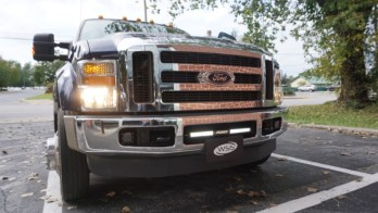 2010 Ford F-450 Super Duty from Manchester Gets Lighting Upgrade