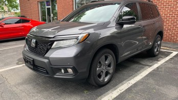 Littlestown Client Adds 3M Window Tint to 2019 Honda Passport