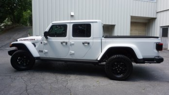 3M Crystalline Window Tint Protects a 2020 Jeep Gladiator Truck