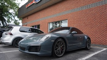 Window Tint and Clear Bra for Pikesville Porsche 911 C4S