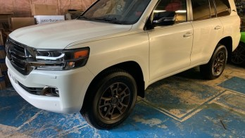 Paint Protection Film Protects 2020 Toyota Landcruiser from Road Debris