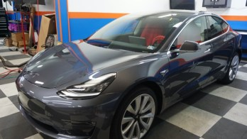 3M Scotchgard Pro Paint Protection Film Applied to 2019 Tesla Model 3