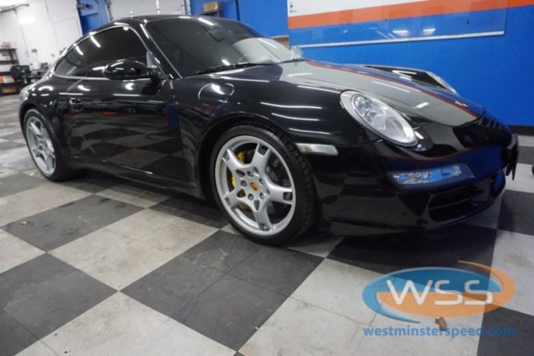 Porsche 911 stereo
