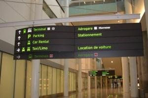 wayfinding airport