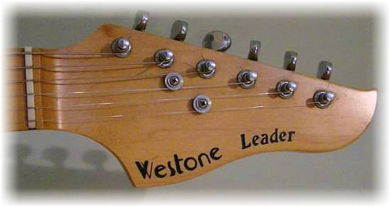 1982 leader headstock
