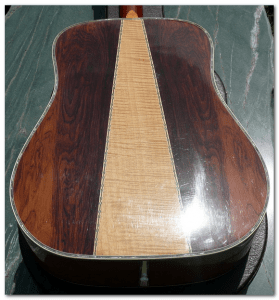 westone w40 acoustic body back