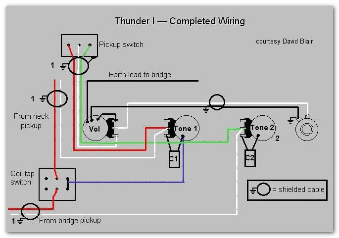 thunder i t & thunder i westone guitars westone thunder 1a bass wiring diagram at Westone Thunder 1a Wiring Diagram