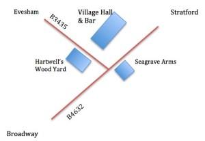 Hall map