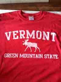 Green Mountain State Moose T-Shirt