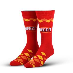 Cheez-Its Cool Socks