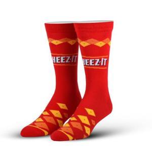 Cheez-Its Cool Socks