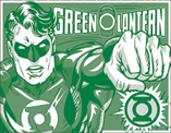 Green Lantern – Duotone