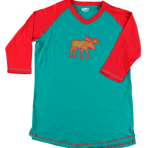 Pattern Moose | Women's Tall Tee