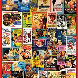 Classic Movie Posters 1000 pc.