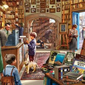 Old Bookstore 1000 pc.
