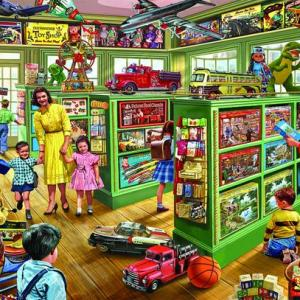 The Toy Store 1000 pc.