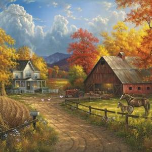 Country Blessings 1000 pc.