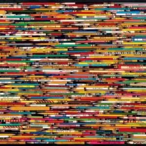 Pencil Collage 1000 pc.