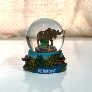 Moose Mini Snowglobe