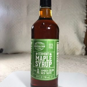 25 oz Glass Vermont Maple Syrup