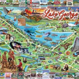 I Love Lake George 1000 pc.