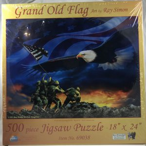 Grand Old Flag 500 pc.