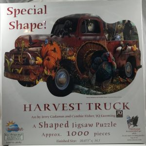 Harvest Truck Shaped 1000 pc.