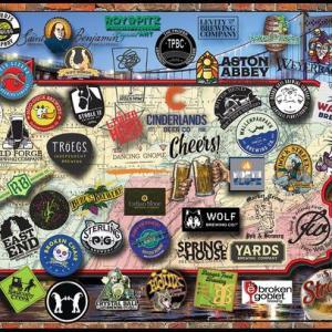 Pennsilvania Beers 1000 pc.