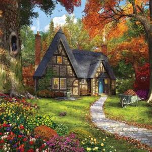 Autumn Cottage 1000 pc.