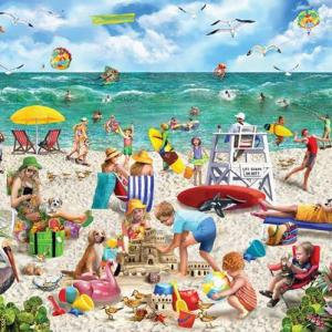 Beach Day 1000 pc.