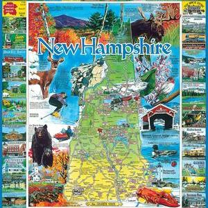 Best of New Hampshire 1000 pc.